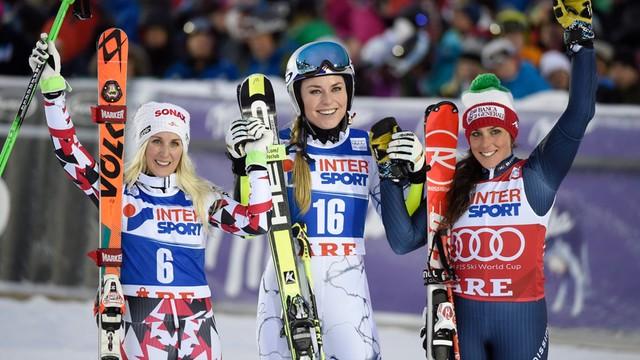 Alpejski PŚ: Vonn wygrała slalom gigant w Are