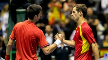 2017-04-08 Puchar Davisa: Serbia z Francją w półfinale