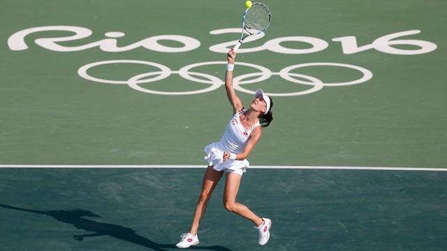 Rio: Radwańska wyeliminowana w pierwszej rundzie