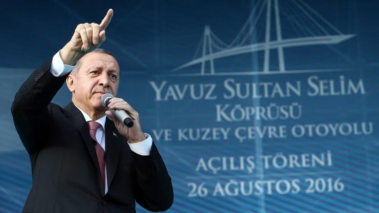 Most łączący Europę z Azją. Erdogan otworzył trzecią przeprawę przez Bosfor