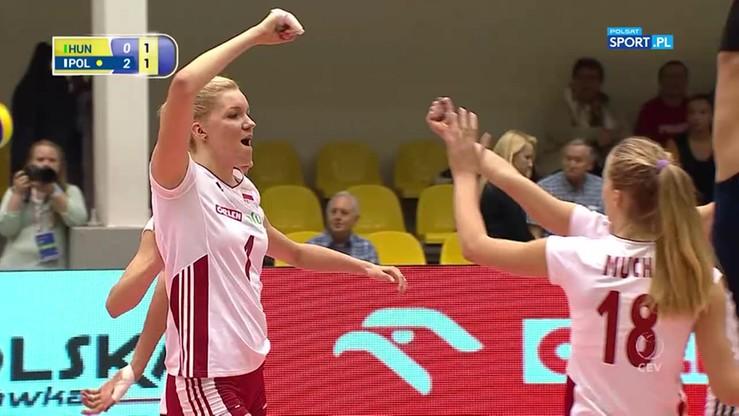 Węgierki zdenerwowały Polki! Dziesięć punktów biało-czerwonych z rzędu