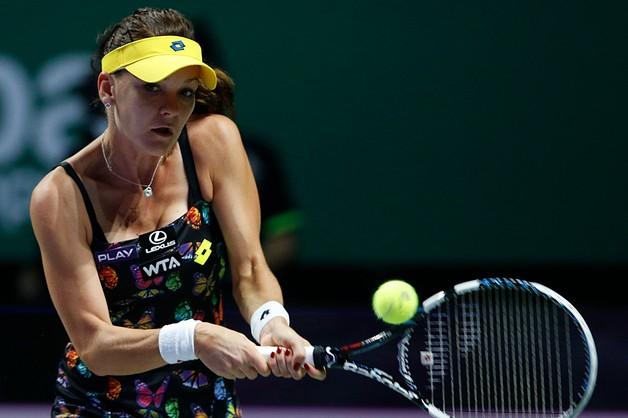 Radwańska odpadła w półfinale turnieju WTA Finals