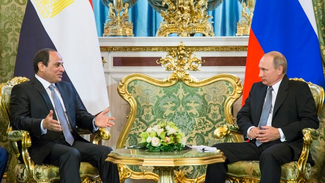 Przywódcy Rosji i Egiptu za koalicją do walki z terroryzmem