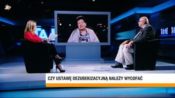 """29-09-2017 22:48 """"Co się stanie, jeżeli PiS straci władzę, a Sejm uzna, że trzeba zrobić depisyzację"""". Senyszyn o dezubekizacji"""