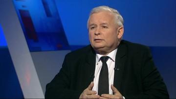 Jarosław Kaczyński w programie Gość Wydarzeń w Polsat News