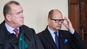 Proces prezydenta Gdańska ws. oświadczeń majątkowych. Adamowicz odmówił składania wyjaśnień