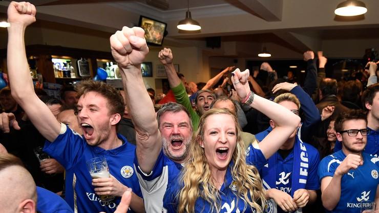 Tak się bawi Leicester! Zobacz radość piłkarzy i kibiców! (WIDEO)