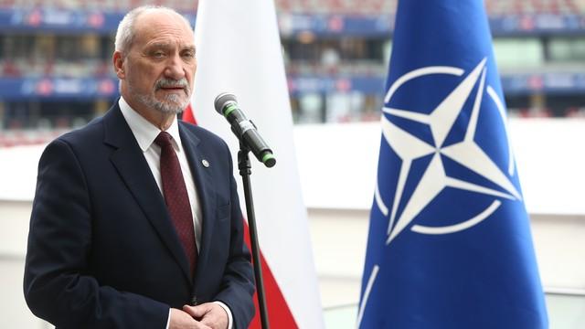Macierewicz: szczyt NATO w Warszawie największy w historii Sojuszu