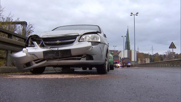 Karambol w Gdyni. Zderzyło się 17 aut