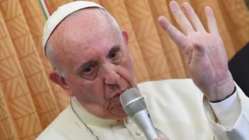 """03-10-2016 06:12 Papież potępił teorię gender. """"To wbrew prawom naturalnym"""""""