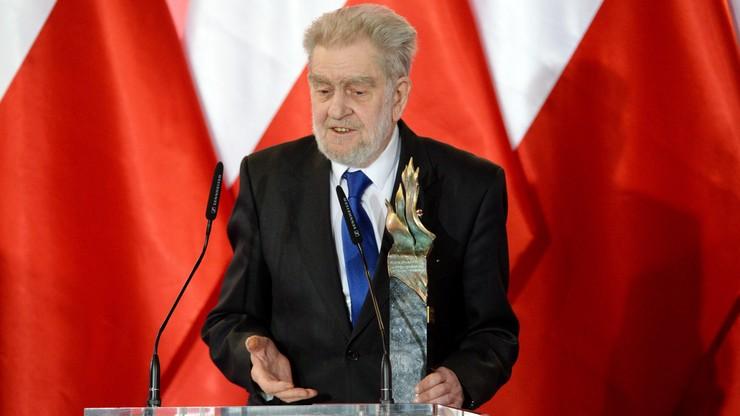 Andrzej Gwiazda uhonorowany nagrodą im. Lecha Kaczyńskiego