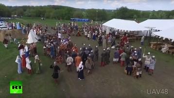 Gra o dron, czyli jak rosyjski wojownik strącił bezzałogowca