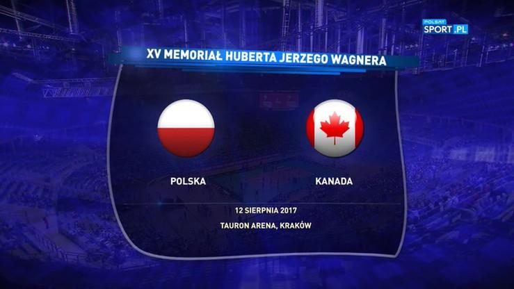 2017-08-12 Polska - Kanada 3:0. Skrót meczu