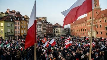 """06-02-2016 17:00 Manifestacje przeciwko imigrantom. W Warszawie pod hasłem """"przeciw islamizacji Europy"""""""