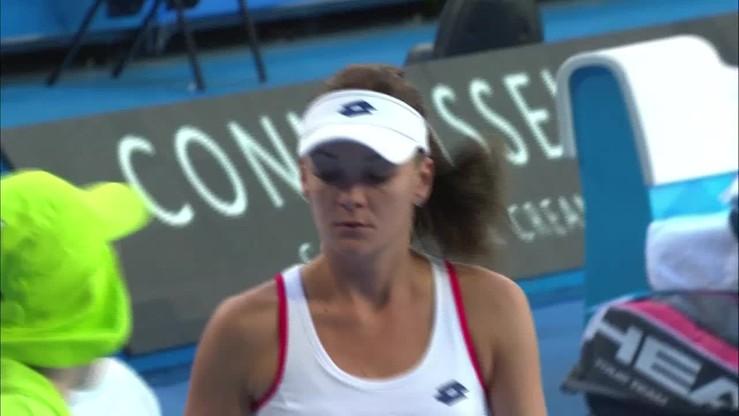 Agnieszka Radwańska - Casey Dellacqua 6:2, 6:3. Skrót meczu