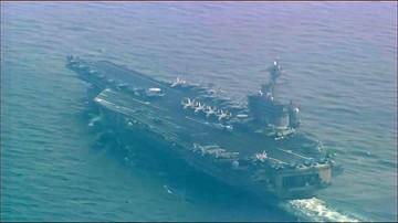 29-04-2017 13:29 Amerykański lotniskowiec atomowy USS Carl Vinson płynie w kierunku Półwyspu Koreańskiego