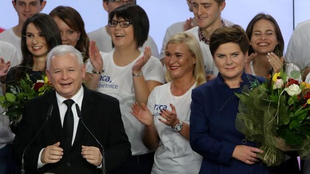 PiS z wynikiem 39,1 proc. zwyciężył w wyborach parlamentarnych. Kukiz trzecią siłą