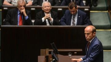 """22-07-2016 06:12 Burzliwa debata w Sejmie o Trybunale. """"Znowu nocą, znowu w pośpiechu, znowu niekonstytucyjnie"""""""