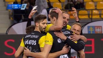 2016-12-21 PlusLiga: Lotos Trefl Gdańsk pewnie wygrał w Kielcach