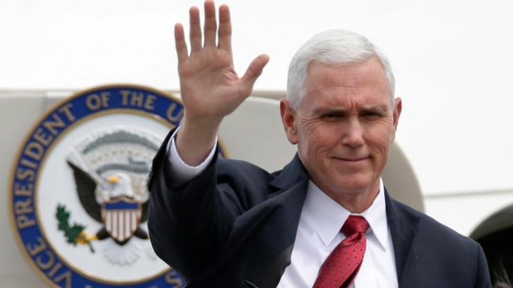 Wiceprezydent USA: w sprawie Korei Płn. możliwe wszystkie opcje