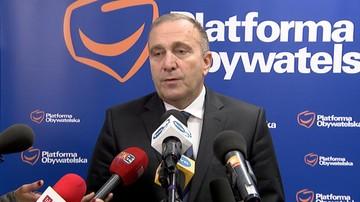 """""""Naturalnym kandydatem na premiera jest Grzegorz Schetyna"""""""