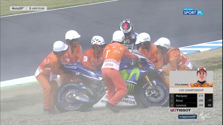 MotoGP: Kosztowny błąd Lorenzo dał Marquezowi mistrzostwo świata