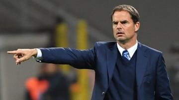 2016-11-01 De Boer zwolniony z Interu Mediolan