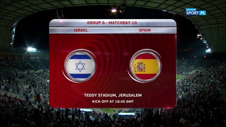 Izrael - Hiszpania 0:1. Skrót meczu