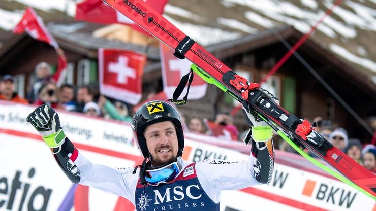 Alpejski PŚ: Hirscher trzeci w klasyfikacji wszech czasów