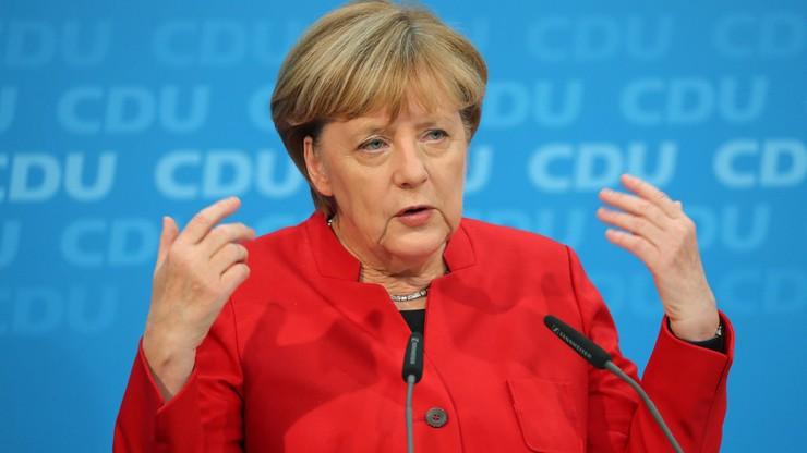 """Merkel będzie kandydować na kanclerza choć """"czasy niepewne"""""""