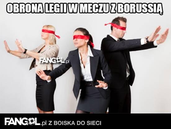 Internet nie oszczędza Legii. Komentarze po meczu z Borussią