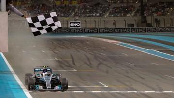 2017-11-26 Formuła 1: Bottas wygrał ostatni wyścig w sezonie