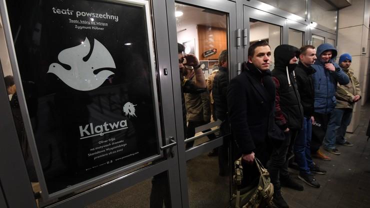 """Z urzędu wszczęto śledztwo ws. spektaklu """"Klątwa"""" w Teatrze Powszechnym"""