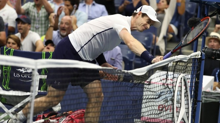 US Open: Murray wyeliminowany w ćwierćfinale!