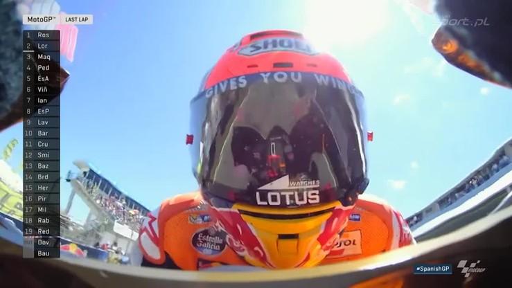 Valentino Rossi triumfuje w GP Hiszpanii
