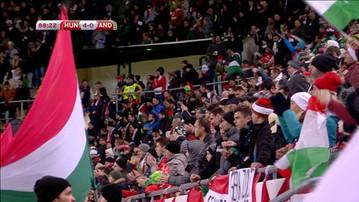 2016-11-14 Węgierscy kibice pozdrawiają. Polska, Polska na stadionie w Budapeszcie (WIDEO)