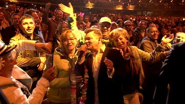 """Zobacz, jak Zenek Martyniuk podbił Operę Leśną w Sopocie. Dziś koncert """"Radiowy przebój roku""""."""