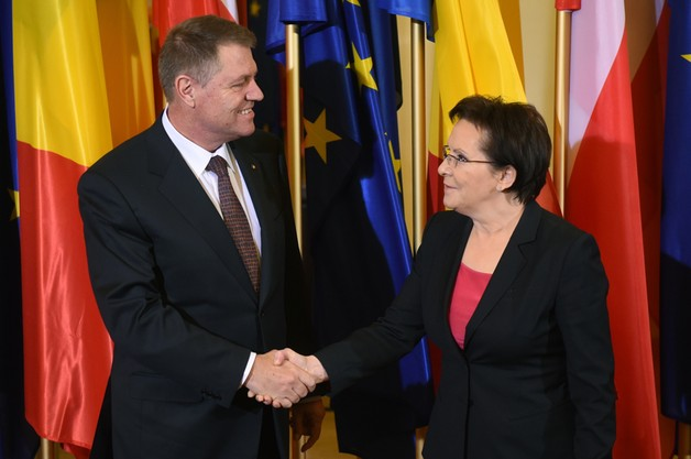 Kopacz i prezydent Rumunii  o  UE, NATO i Ukrainie