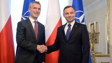 30-05-2016 19:45 Prezydent: chcemy, by szczyt NATO w Warszawie odpowiedział na wszystkie wyzwania