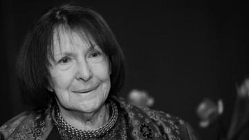 02-08-2017 16:39 Zmarła Wanda Chotomska - autorka wierszy, piosenek i opowiadań dla dzieci. Miała 88 lat