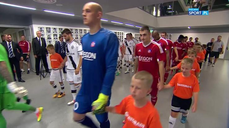 Legia Warszawa - AS Trencin 0:0. Skrót meczu