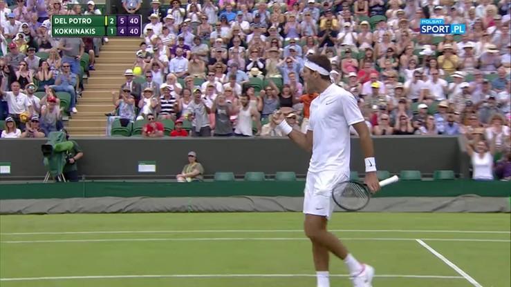 Najładniejsze akcje Wimbledonu - 04.07