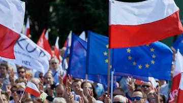 28-07-2017 14:57 Uszkodzona elewacja sądu po protestach w Gdańsku. Wszczęto postępowanie