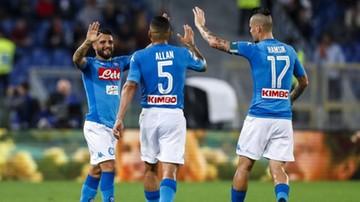 2017-10-14 Serie A: Napoli powiększyło przewagę nad Juventusem Turyn