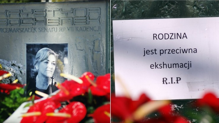 Katastrofa smoleńska: ekshumowano ciało Krystyny Bochenek. Rodzina była temu przeciwna