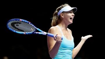 2015-10-29 Szarapowa pomogła. Radwańska w półfinale WTA Finals