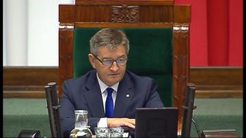 05-09-2016 11:25 Opozycja chce odwołać marszałka. Debata nad losem Kuchcińskiego