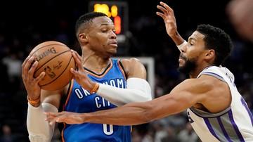 2018-01-05 NBA: Trzynaste w sezonie triple-double Westbrooka