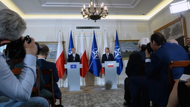 Duda i Stoltenberg: spotkanie NATO- Rosja, gdy obie strony będą gotowe