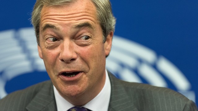 Farage: Możliwy wstrząs, jeśli rząd będzie odwlekał Brexit